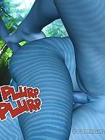 XXX Avatar Navi Cartoons