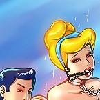 Cinderella tries BDSM